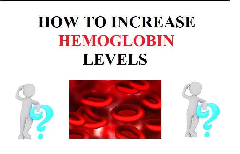 How to increase Hemoglobin Levels