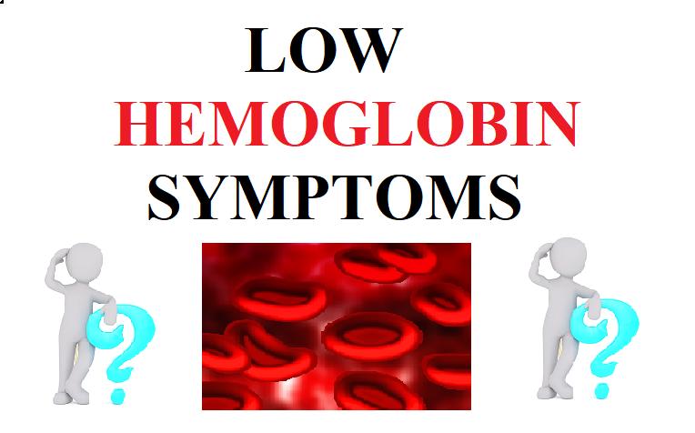 Low Hemoglobin Symptoms